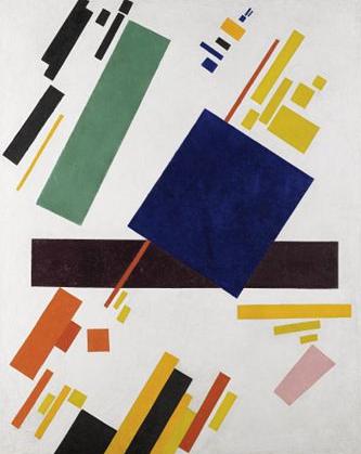 Kasimir Malevich Suprematist Composition 1916