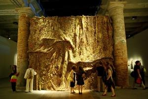 El Anatsui Dusasa II Venice Biennale 2007