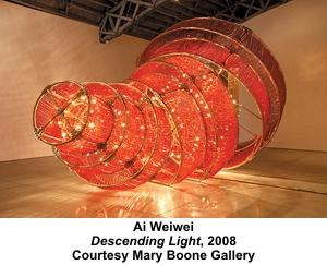 Ai Weiwei Descending