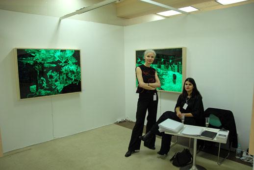 Heiko Blankenstein at Galerie Alexandra Saheb in Tokyo 101 fair