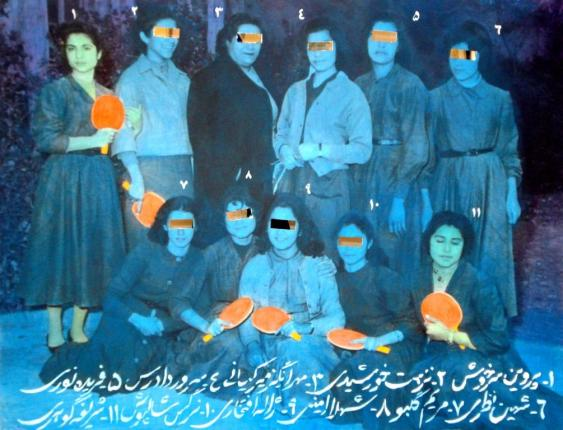 Samirah Alikhanzadeh, The Orange Raquet Team, 2008