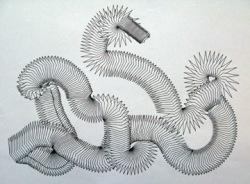 Sorn Setpheap, Naga, Wall installation paper