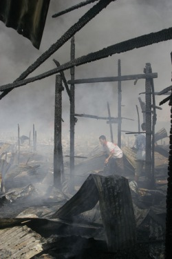 Vandy Rattana, Fire of the Year 6, C-print photo
