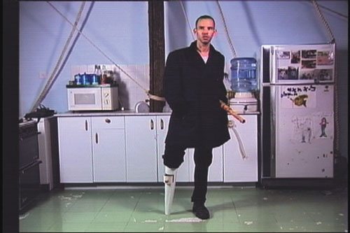 Guy Ben-Ner, Moby Dick, video still, 2000
