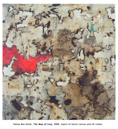 Hanaa Mal-Allah, The Map of Iraq 2008