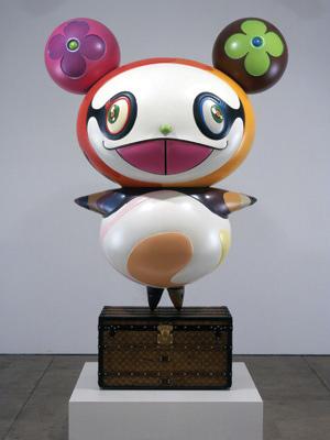 'Panda' by Takashi Murakami, 2003. Fiberglass.