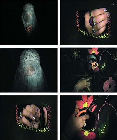 The Third One, by Rahraw Omarzad, 2005. Video still. Afghanistan.