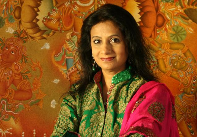Rajshree Pathy, art collector and co-sponsor India Art Summit