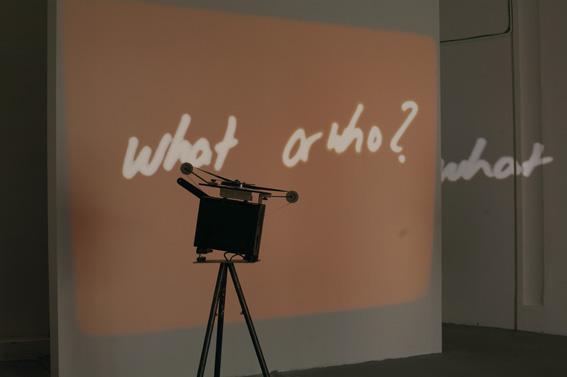Rosa Barba, Making Worlds, 53rd Venice Biennale, Palazzo delle Esposizione, Giardini, 2009 5x16mm films, modified projectors, 20min, 2009