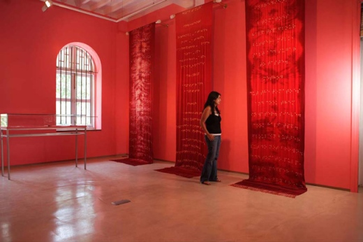 Reena Kallat, Walls of the Womb, 2007