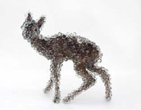 Kohei Nawa, PixCell - Bambi, mixed media, 2005