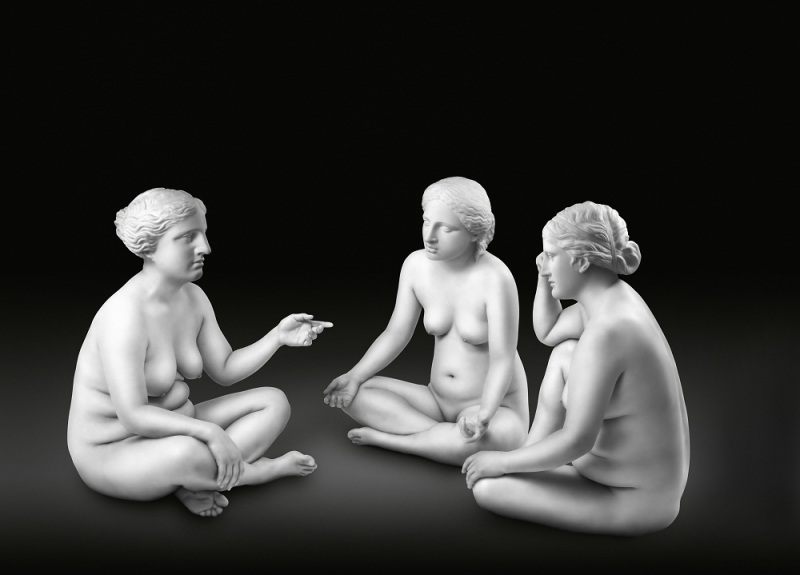 Debbie Han, Seated Three Graces