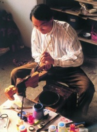 Renowned Taiwanese sculptor Ju Ming