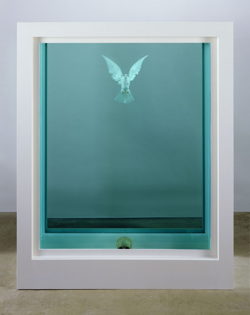The Inescapable Truth by Damien Hirst (2005) is the first formaldehyde work by the artist to be shown in China.