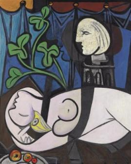 Pablo Picasso's Nude, Green Leaves and Bust (1932) was recently sold at a Christie's sale in New York for a record $106.4 million. It is believed to have been purchased by a Chinese collector.