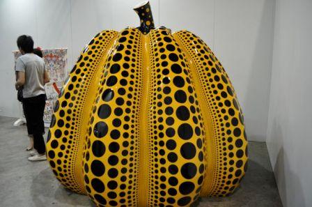 Yayoi Kusama, Pumpkin, 2010