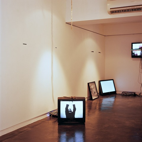 "in situ, ""No Matter, Try Again, Fail Again"", gallery EXIT, Hong Kong, 2009"