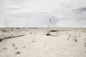 Zhao Renhui, Tottori Sand Dunes, 2009, archieval piezographic print, 84 x 121 cm