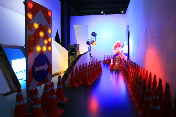 """The Penguin that goes to the Mountain"", an exhibition held at Korea's Nam June Paik Center this year."