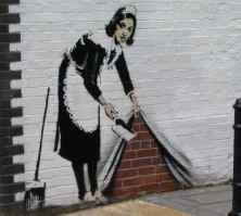 Banksy, North London.