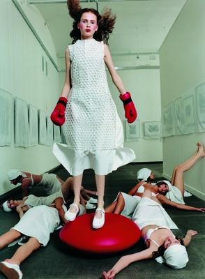 Vlad Loktev, '1:0', photograph, 1999. Image courtesy of Maison Européene de la Photographie.