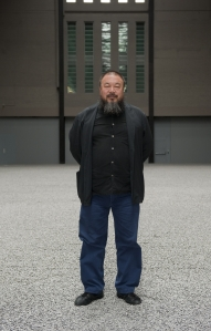 Ai Weiwei. Image courtesy of Tate Modern.