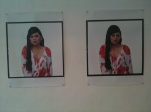 Michael Shaowanasai, Four Faces of Faith A Girl in Rose Blouse, C print, 2005