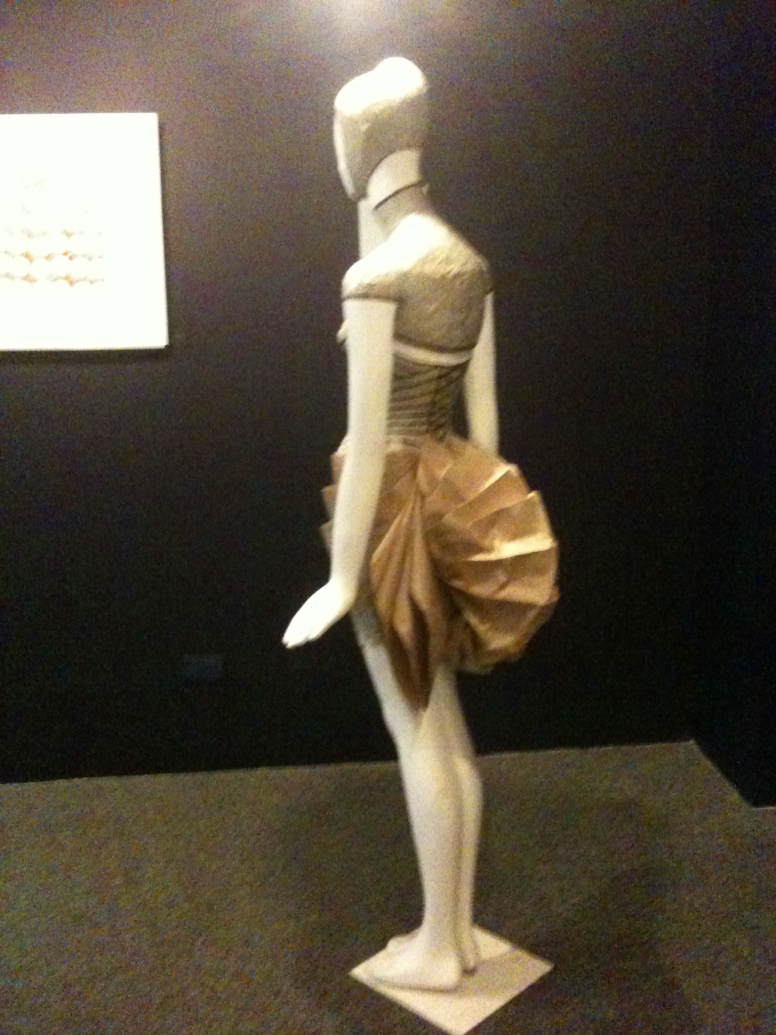 """One of the paper designs on show at Yuchengco Museum's exhibition """"Art in Paper"""". Image property of Art Radar Journal."""